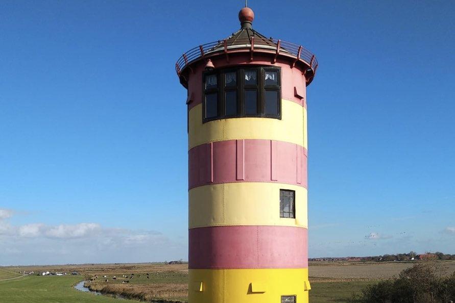 Pilsumer Leuchtturm in Greetsiel
